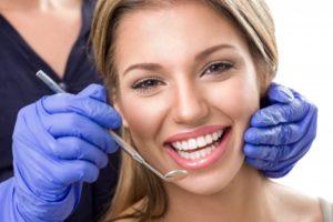 woman smiling happy white teeth
